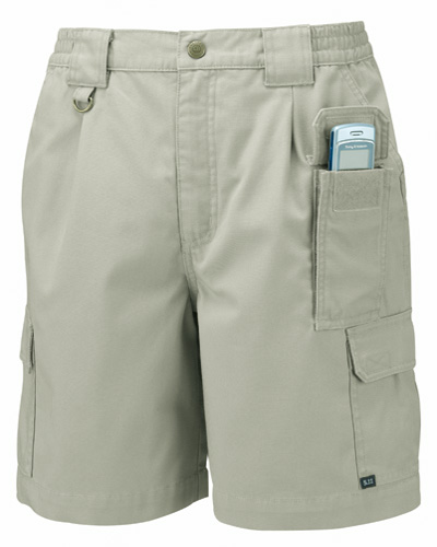 Khaki 5.11 Tactical Shorts