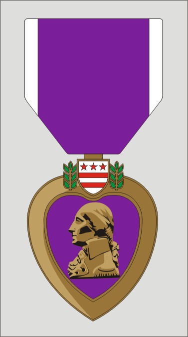 Decal- Purple Heart