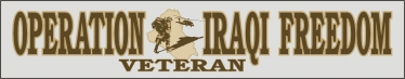 Decal- Operation Iraqi Freedom Veteran
