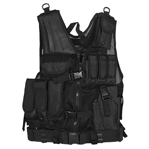 Mach I Tactical Vest-Black