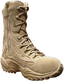 Reebok 8 Inch Desert Boot Compposite Toe and Zipper