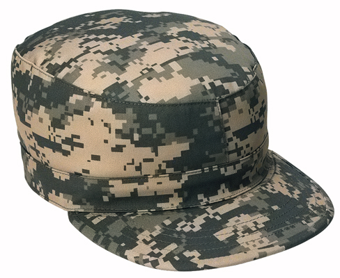 Army Combat Cap in the New Army Digital Camouflage