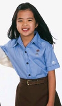 Brownie Girl Scout Blouse for Uniform