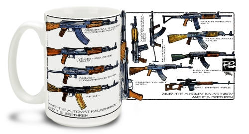 AK-47 By R. Burrows Mug