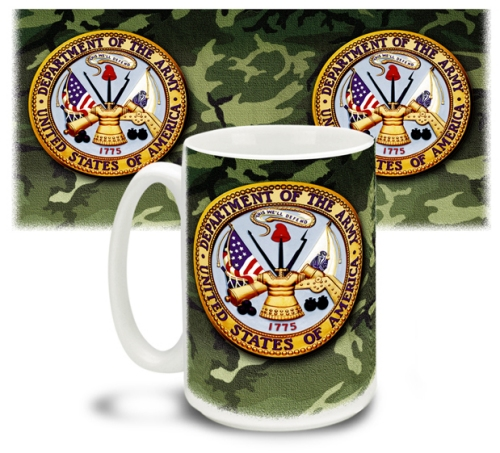 Army Crest Mug The Original