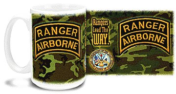 Rangers Lead The Way Airborne Mug