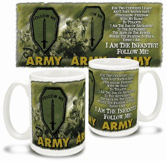 Infantry Creed Mug