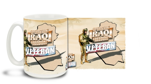 Operation Iraqi Freedom Vet Mug