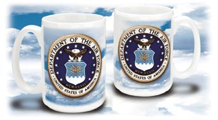 Air Force Crest Mug