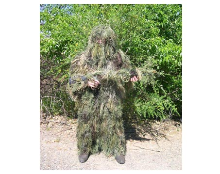 Woodland Ghillie Suit By Swiss Link