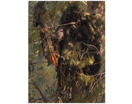 Bow Hunters Ghillie Suit Designed For Archers