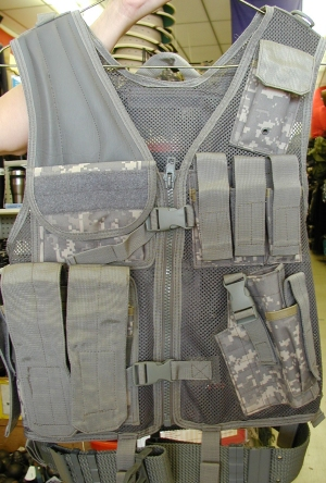 Mach I Tactical Vest-Digital ACU