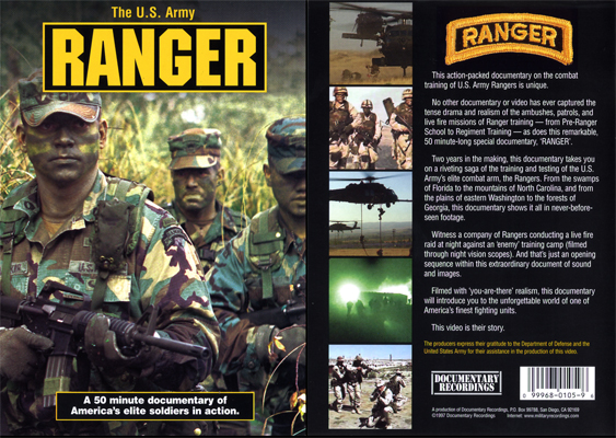 DVD US Army Rangers
