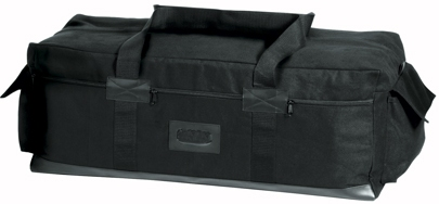 Israeli Duffel Bag in Black isa Multi-purpose Duffle Bag