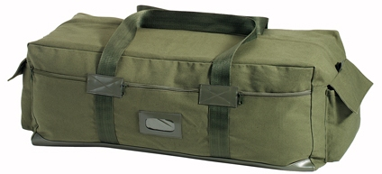 Israeli Duffel Bag in Olive isa Multi-purpose Duffle Bag