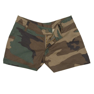 Women's Woodland Camo Shorts