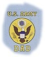 US Army Dad Decal
