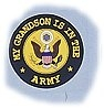 My Grandson Is In The Army Decal