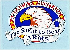 Right To Bear Arms Decal