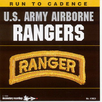 CD US Army Airborne Rangers Run To Cadence