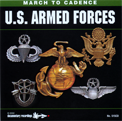 CD U.S. Armed Forces March To Cadence