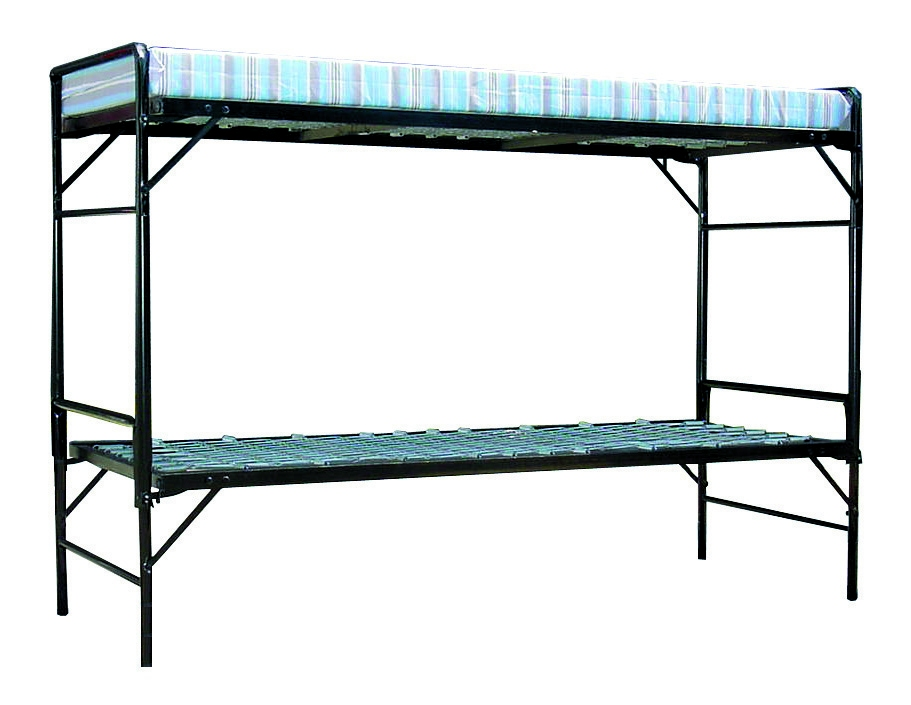 GI Style Steel Bunk Bed SleepsTwo Adults