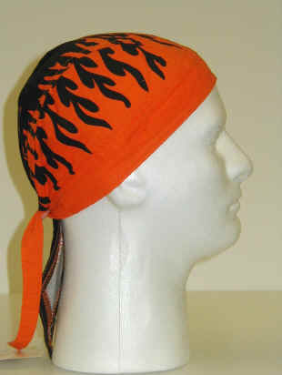 Headwraps- Flames One size fits all