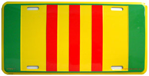 Vietnam Ribbon License Plate