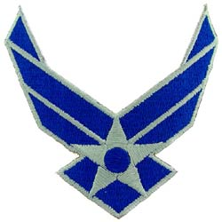 Patch- US Airforce Logo Wings