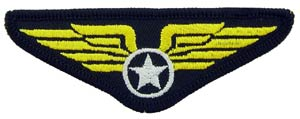 Patch- USAF Wing With Star