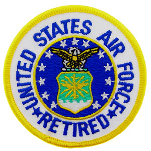 Patch- USAF Logo Retired
