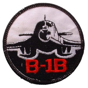 Patch- USAF B-1B Bomber