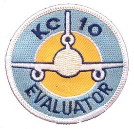 Patch- USAF KC-10 Evaluator