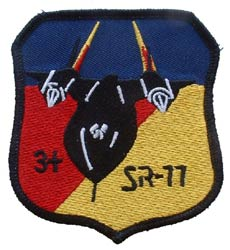 Patch-USAF SR-71 Shield