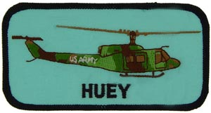 Patch - Helicopter Huey