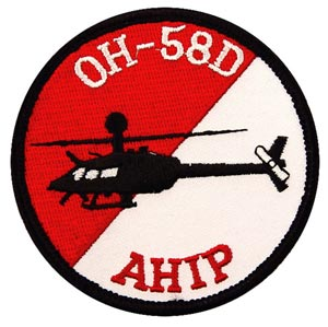 Patch-Helicopter OH-58D AHIP