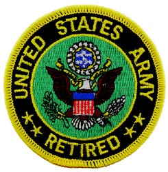 Patch-Army Logo Retired