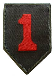 Patch-Army 1st Infantry Division