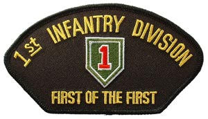 Patch-Army 1st Infantry Division For Cap