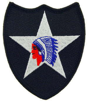 Patch-Army 2nd Infantry Division