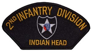 Patch-Army 2nd Infantry For Cap