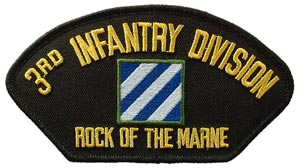Patch-Army 3rd Infantry For Cap