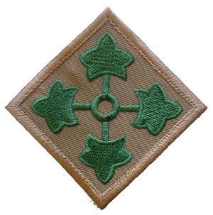 Patch-Army 4th Infantry Division