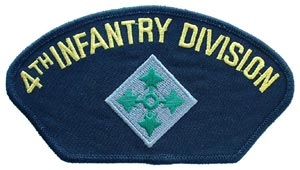 Patch-Army 4th Infantry For Cap