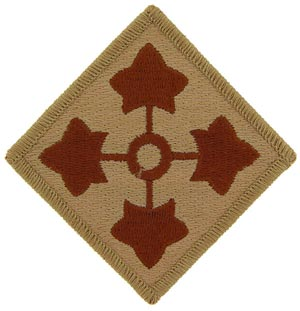 Patch-Army 4th Infantry Dest