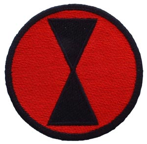 Patch-Army 7th Infantry Division