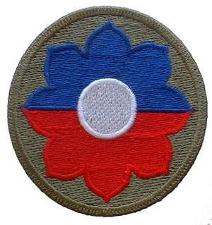 Patch-Army 9th Infantry Division