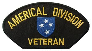 Patch-Army Americal Div. Vet For Cap