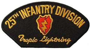 Patch-Army 25th Infantry For Cap
