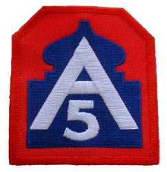Patch-Army 5th